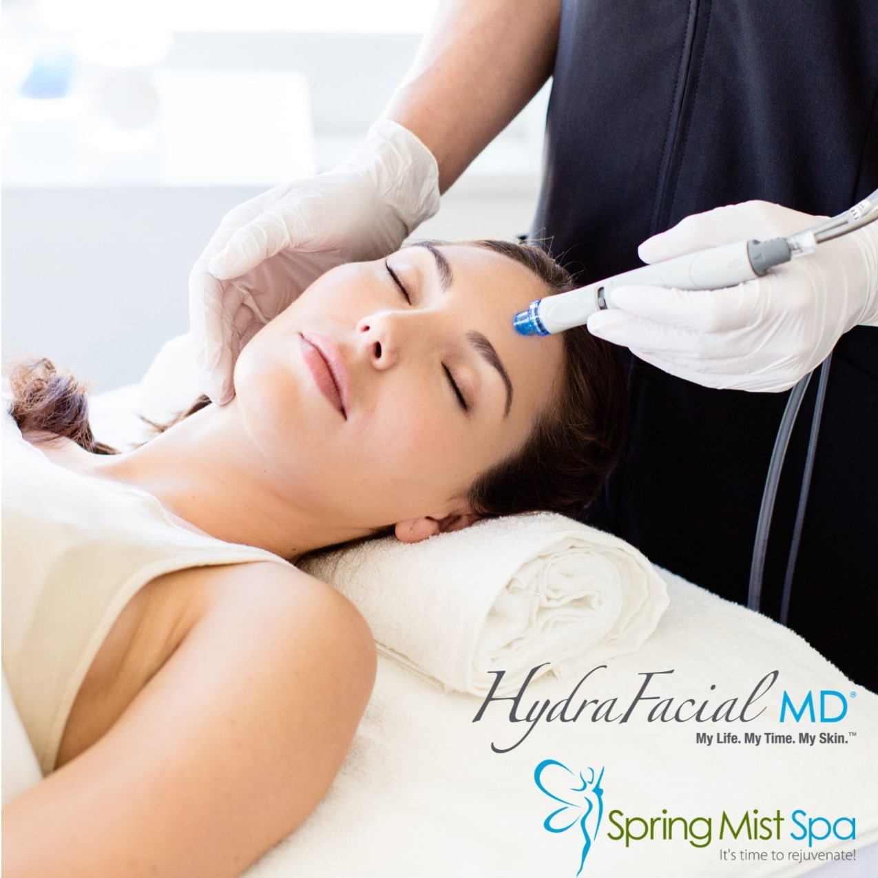 HydraFacial MD at Spring Mist Spa
