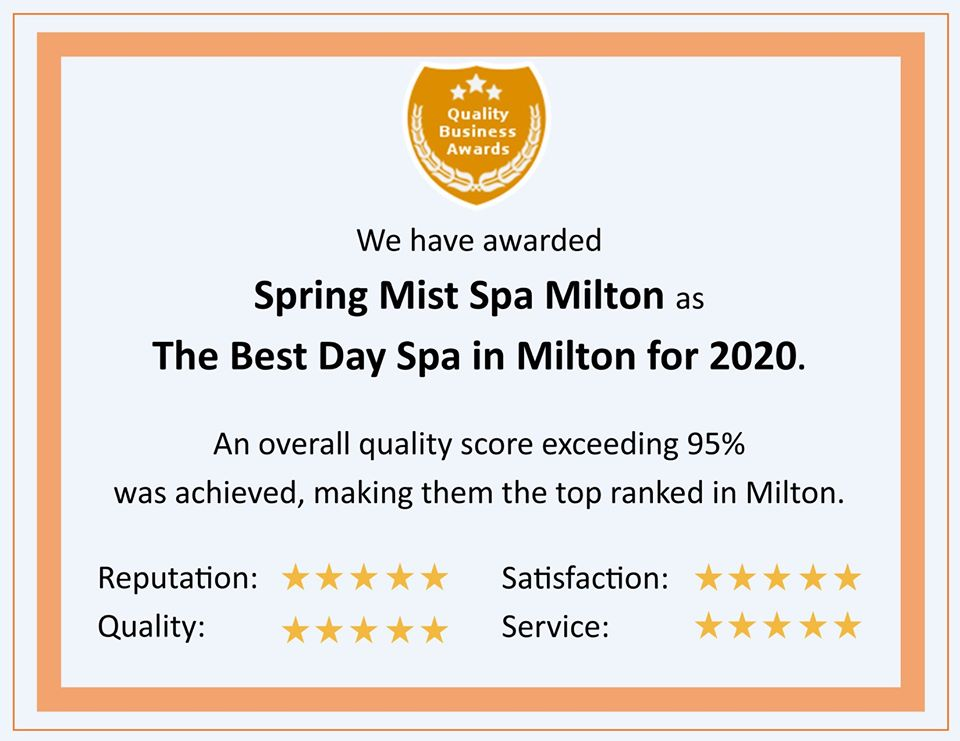 The Best Day Spa in Milton for 2020